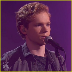 Chase Goehring Sings New Song 'What Is Love' During 'AGT' Semi-Finals (Video)