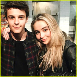 Corey Fogelmanis is Stanning Sabrina Carpenter As Much As the Rest of Us