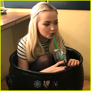 Dove Cameron is Definitely the Best Real-Life Halloween Decoration