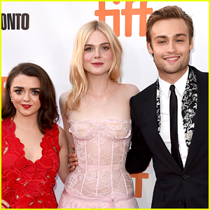 Elle Fanning, Maisie Williams, & Douglas Booth Premiere 'Mary Shelley' at TIFF