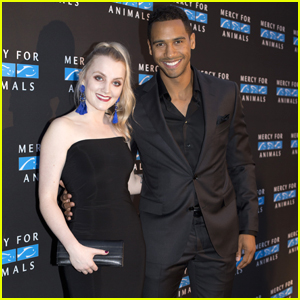 'Life Sentence' Star Elliot Knight & Girlfriend Evanna Lynch Step Out For 'Mercy For Animals' Gala