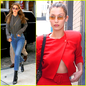 Gigi Hadid Enjoys a Day Off in NYC!