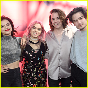 Hey Violet Perform 'Break My Heart' at iHeartRadio Music Festival (Video)