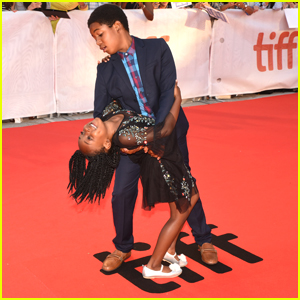 'Raven's Home' Star Issac Ryan Brown Dances All Over the TIFF Red Carpet