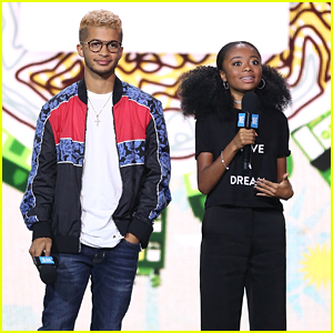 Jordan Fisher Takes Break From DWTS to Host WE Day UN 2017!