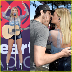Kelsea Ballerini & Fiance Morgan Evans Couple Up at iHeartRadio Festival!