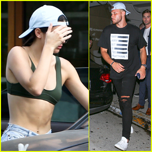 Kendall Jenner Shows Off Her Hot Abs While Out with Blake Griffin!