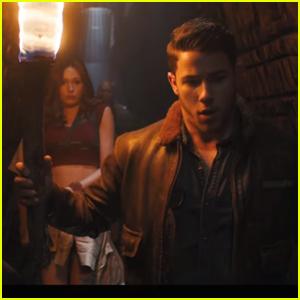 Nick Jonas Navigates The Jungle In New 'Jumanji' Trailer - Watch Here!