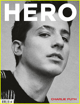 Charlie Puth Takes Off His Shirt for 'Hero' Mag - See the Pics!
