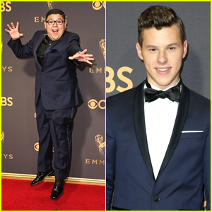 Rico Rodriguez & Nolan Gould Are Blues Brothers at Emmy Awards 2017
