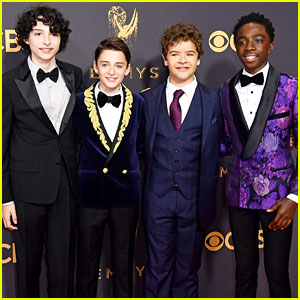 'Stranger Things' Boys Look So Suave at Emmy Awards 2017!