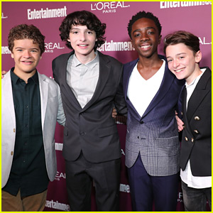 'Stranger Things' Boys Meet Up Before The Emmys!