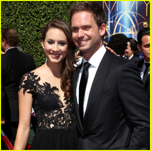 Troian bellisario returns to suits as claire patrick j adams patrick j adams is inspired by wife troian bellisario thecheapjerseys Gallery