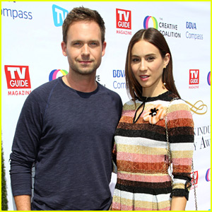 Troian Bellisario Gets Support from Husband Patrick J. Adams at TV Advocacy Awards!