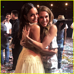 Vanessa Hudgens Reunites With HSM Co-Star Allison Holker at 'So You Think You Can Dance' Finale