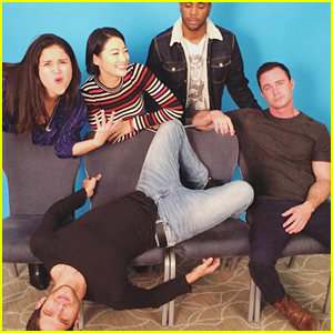 Arden Cho Reunites With Tyler Posey & 'Teen Wolf' Fam For Fun Pics in Paris