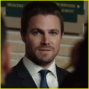 Oliver Queen Name Drops Bruce Wayne's Name In 'Arrow' Clip - Watch Now!