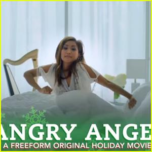 Watch First Sneak Peek of Brenda Song's Upcoming Movie 'Angry Angel'!