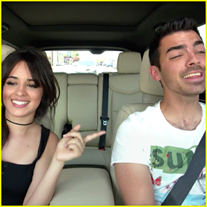 Camila Cabello & Joe Jonas Duet to 'Grease' Together on 'Carpool Karaoke'