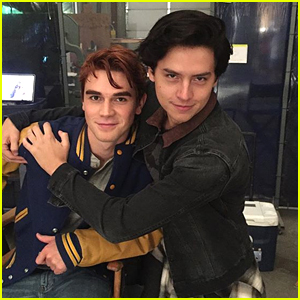 Riverdale's Cole Sprouse & KJ Apa Drag Each Other on Twitter Again; Casey Cott Joins In
