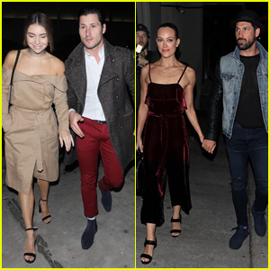 Val Chmerkovskiy Brings Jenna Johnson on Double Date Night!