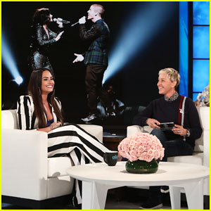 Ellen Asks Demi Lovato if 'Ruin The Friendship' is About Nick Jonas!