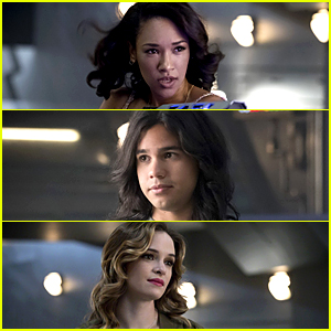 Candice Patton, Danielle Panabaker & Carlos Valdes Dish on 'The Flash's New Villain
