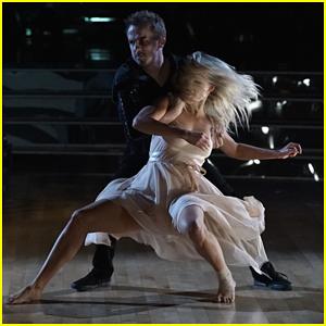 Frankie Muniz & Witney Carson Perform Contemporary for DWTS Season 25 Halloween Night (Video)