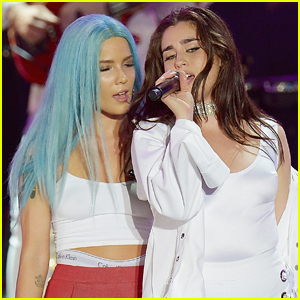 Lauren Jauregui Joins Halsey on Stage For 'Strangers' Duet – Watch Now!