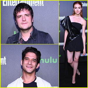 Josh Hutcherson, Tyler Posey & More Attend Hulu's New York Comic Con After Party!