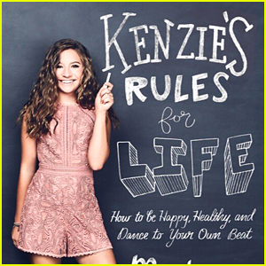 Mackenzie Ziegler Debuts the Cover for Her First Book