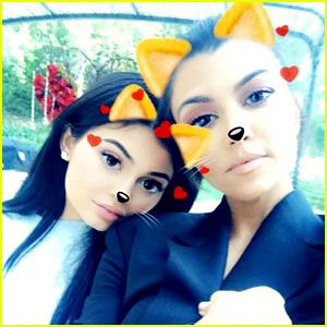 Pregnant Kylie Jenner Joins Kardashian Sisters for Family Get Together