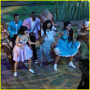 DWTS Season 25 Halloween Night Team Dance: Team Monster Mash Turn Into Monsters On The Dance Floor (Video)