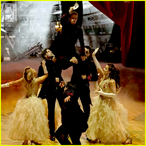 DWTS Season 25 Team Dance: Team Phantom of the Ballroom Haunts The Dance Floor (Video)