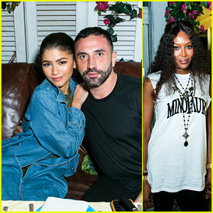 Zendaya, Naomi Campbell & More Dine Together to Celebrate Nike's New Riccardo Tisci Collection!