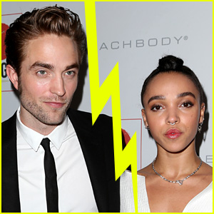 Robert Pattinson Splits from FKA twigs After Nearly Three Years Together