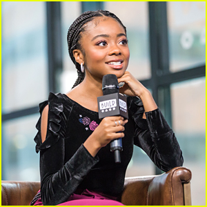 Skai Jackson Talks Up Her Fashion Collection With Nowadays