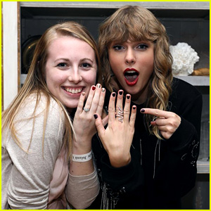 Taylor Swift Wears Snake Ring to Secret Session in Rhode Island (Photos)