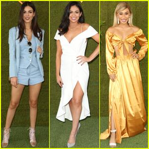 Victoria Justice, Bethany Mota & Eva Gutowski Get Glam For Veuve Clicquot Polo Classic