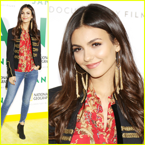Victoria Justice Steps Out For Star-Studded 'Jane' Premiere at Hollywood Bowl