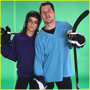 Victoria Arlen & Val Chmerkovskiy Take on Sports Movies on DWTS' Night at the Movies (Video)