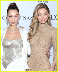 Bella Hadid Helped Sister Gigi Avoid a Big Fall This Week