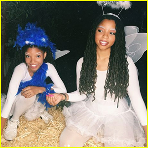 Chloe x Halle Recreated Their Childhood Costumes For Halloween