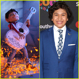 Coco's Anthony Gonzalez Dishes On His Love For Mariachi, Plus Listen to the 'Coco' Soundtrack!