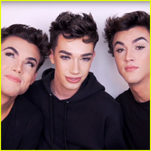 James Charles Gives the Dolan Twins Glam Makeovers (Video)