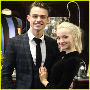 Dove Cameron & Thomas Doherty Reenact That 'Lady & The Tramp' Scene