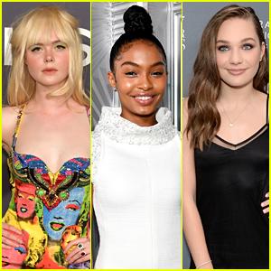 Elle Fanning, Yara Shahidi, & Maddie Ziegler Make Time's Most Influential Teens of 2017 List