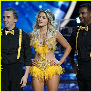 Frankie Muniz & Witney Carson Reunite with Alfonso Ribeiro For Jive on DWTS Season 25 Week #8 (Video)