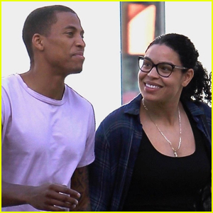 Jordin Sparks Couples Up With Husband Dana Isaiah For Holiday Shopping!