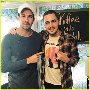 Kendall Schmidt & James Maslow Team Up For Fun 'Koffee With Kendall' Episode